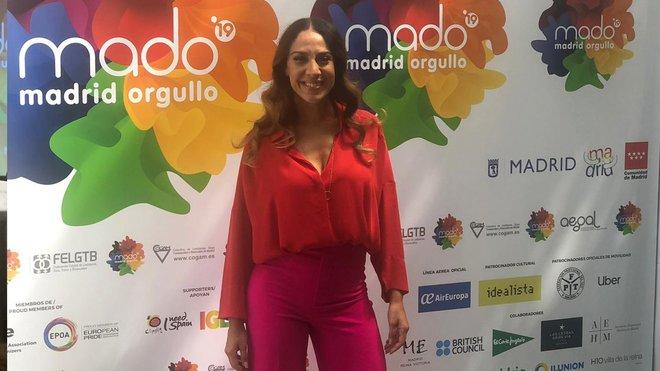 Mónica  Naranjo pregonera del MADO2019