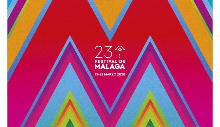 La obra Mucha Más Málaga de Pedro Cabañas, elegida como imagen del 23 Festival de Málaga.