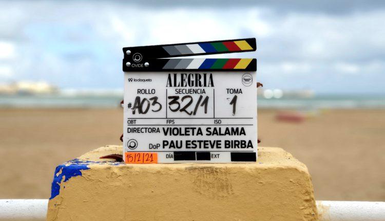 Comienza el rodaje de ALEGRÍA de Violeta Salama