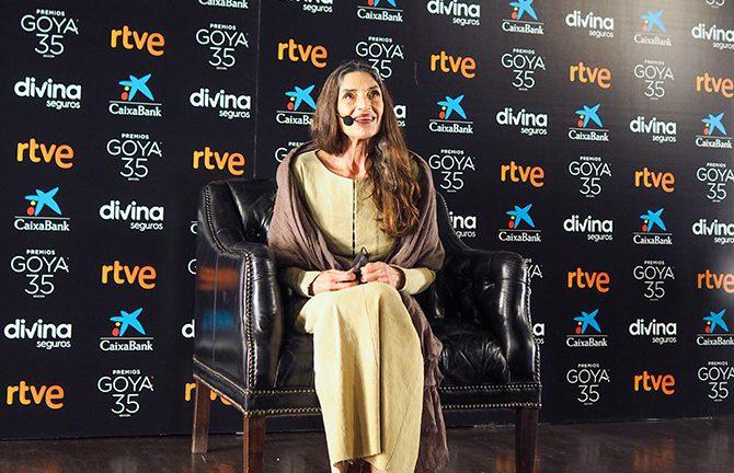 Ángela Molina Goya de Honor